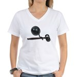 Facing Legal Issues Women's V-Neck T-Shirt