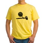 Facing Legal Issues Yellow T-Shirt