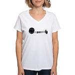 Ball Chain Gavel Women's V-Neck T-Shirt