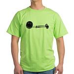 Ball Chain Gavel Green T-Shirt