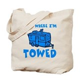 Towed Trailer Tote Bag