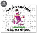 Funny Football Grandpa Puzzle