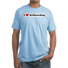 I Love Sailboarding Shirt