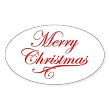 Merry Christmas Decal