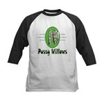 Pussy Willows Kids Baseball Jersey