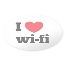 i love wi-fi Decal