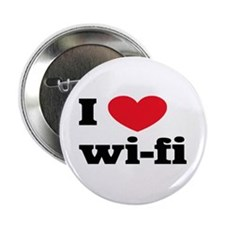 "i love wi-fi 2.25"" Button (10 pack)"