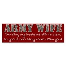 Army GF Bumper Sticker
