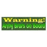 Army Brats Bumper Sticker