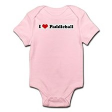 I Love Paddleball Infant Creeper
