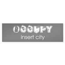Occupy Your City Bumper Sticker