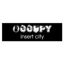 Occupy Your City Car Sticker