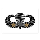 Combat Parachutist 1st -- B-W Postcards (Package o