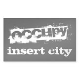 Occupy Your City  Aufkleber