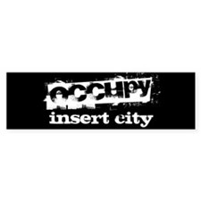 Occupy Your City Car Sticker