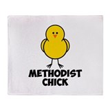 Methodist Chick Throw Blanket