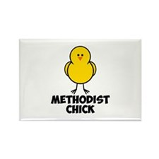 Methodist Chick Rectangle Magnet