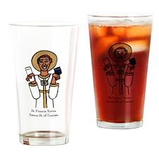 Tourists Drinking Glass