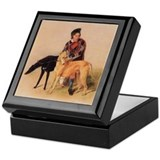 Scottish Deerhound Jewelry Box