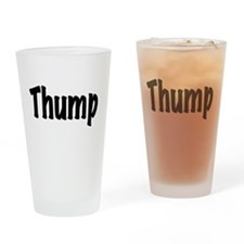 Funny Alcoholism Drinking Glass