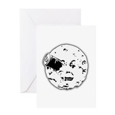 Le Voyage dans la Lune Hugo Moon Man Rocket Greeti