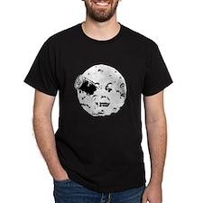 Le Voyage dans la Lune Hugo Moon Man Rocket T-Shirt