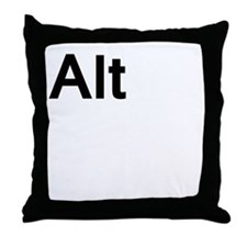 alt Throw Pillow