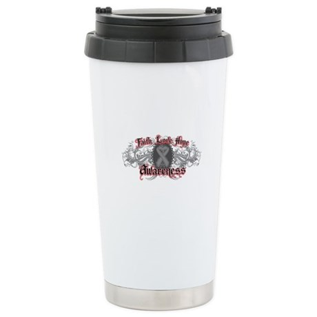 Brain Cancer Faith Ceramic Travel Mug