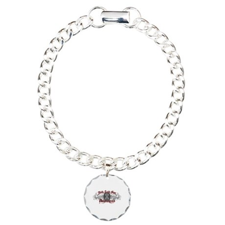 Brain Cancer Faith Charm Bracelet, One Charm