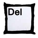del Throw Pillow
