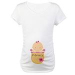 February Baby Maternity T-Shirt