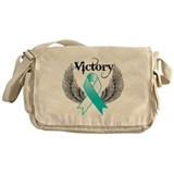 Victory Cervical Cancer Messenger Bag