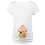 May Baby Maternity T-Shirt