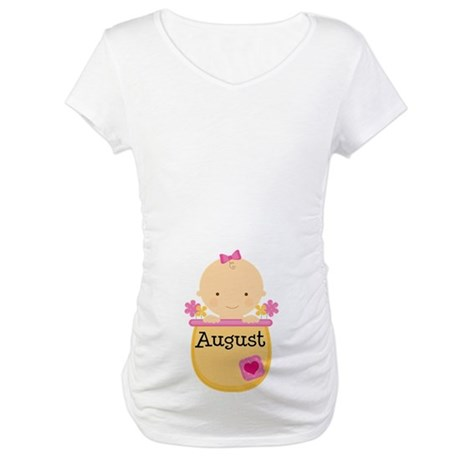 August Baby Maternity T-Shirt