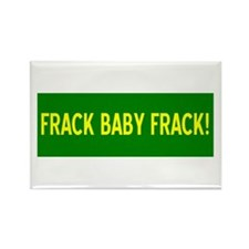 Cute Hydrofracking Rectangle Magnet (100 pack)