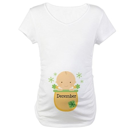 Christmas Baby Maternity T-Shirt