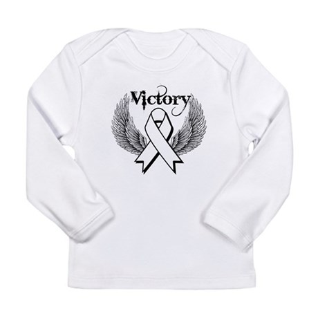 Victory Wings Bone Cancer Long Sleeve Infant T-Shi
