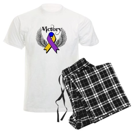 Victory Bladder Cancer Men's Light Pajamas