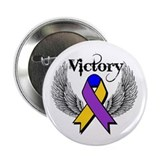 "Victory Bladder Cancer 2.25"" Button"