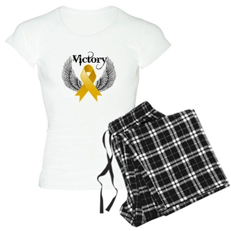 Warrior Appendix Cancer Women's Light Pajamas