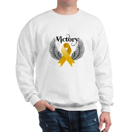 Warrior Appendix Cancer Sweatshirt