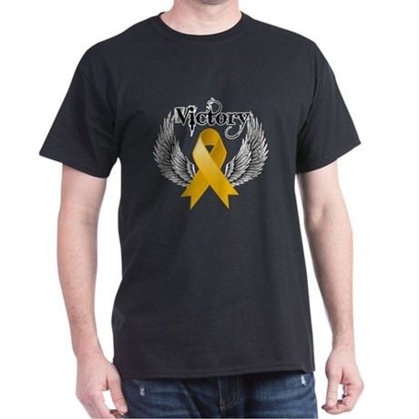 Warrior Appendix Cancer Dark T-Shirt