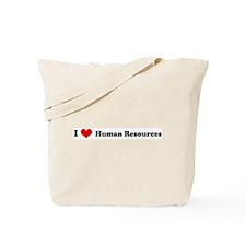 I Love Human Resources Tote Bag
