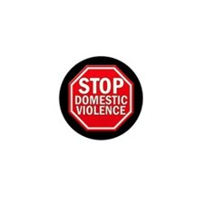 STOP Domestic Violence Mini Button (10 pack)