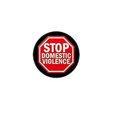 STOP Domestic Violence Mini Button (10 pack)