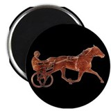 "Brown Pacer Silhouette 2.25"" Magnet (10 pack)"