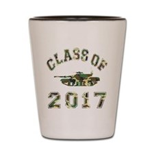 Class Of 2017 Military School Shot Glass