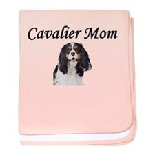 Cavalier Mom-Light Colors baby blanket