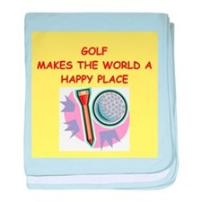 golf gifts baby blanket