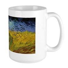Van Gogh Crows Wheatfields Mug